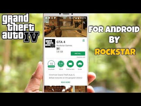 GTA 4 for Android || OFFICIAL BY ROCKSTAR