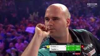 World Darts Championship 2018 Final Cross vs Taylor Set 1.