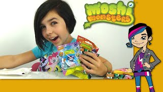 Opening Surprise Package Moshi Monsters Blind Bags from Chira and Ellie