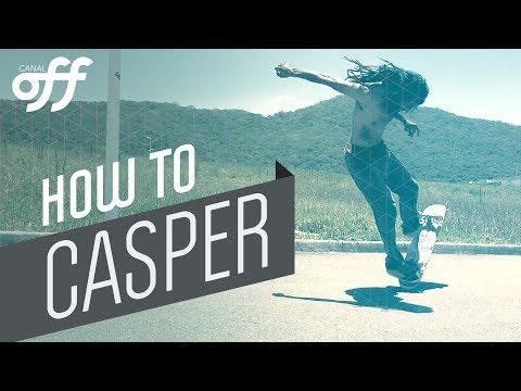 Casper - Manobras de Skate - Canal Off