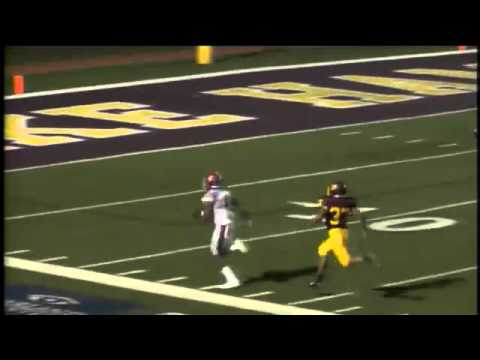 Pine Bluff #4 David Beasley 52 yard bubble screen TD catch