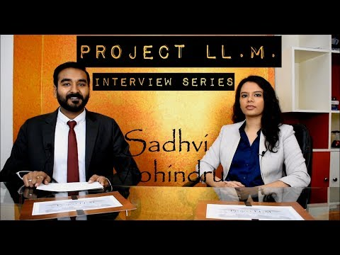 Sadhvi Mohindru - NLU, Jodhpur (2013) ; Georgetown University (2017)