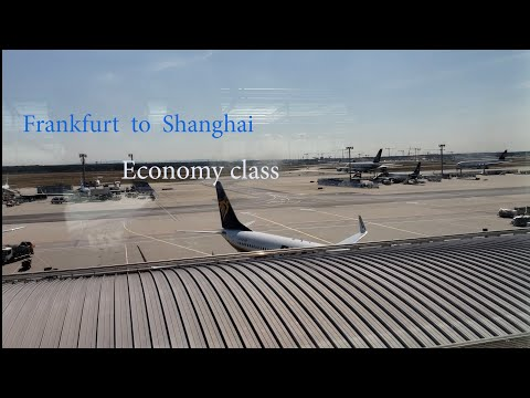 China Eastern Frankfurt To Shanghai. WATCH TILL THE END (Bad Ending To A Great Flight)