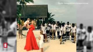 BUNTE TV - Elena Perminova - Vom Babybauch zum Sixpack