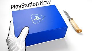 Unboxing Playstation Now Press Kit   Ps2, Ps3, Ps4 Games On Pc! (gameplay Review)