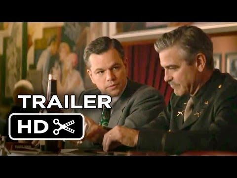 The Monuments Men Official Full online #2 (2013) - George Clooney, Matt Damon Movie HD