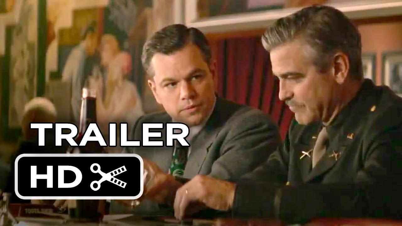 Download The Monuments Men Official Trailer #2 (2013) - George Clooney, Matt Damon Movie HD