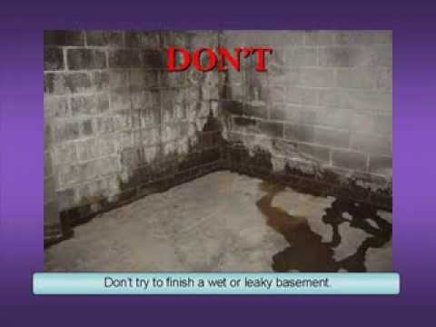 Old Basement Remodel Basement Wall Finishing Do's And Don'ts  Youtube
