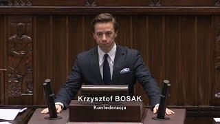 PiS wprowadza chaos - Krzysztof Bosak