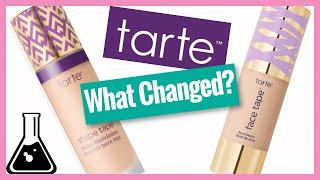 Tarte Face Tape Foundation VS Shape Tape Foundation   Chemist Compares Formulas