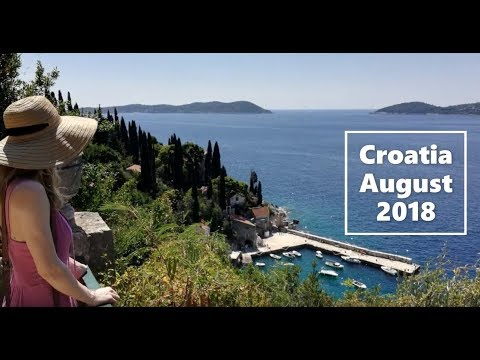 Croatia road trip - Dubrovnik to Zagreb - August 2018