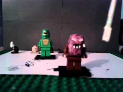 how to make lego batman
