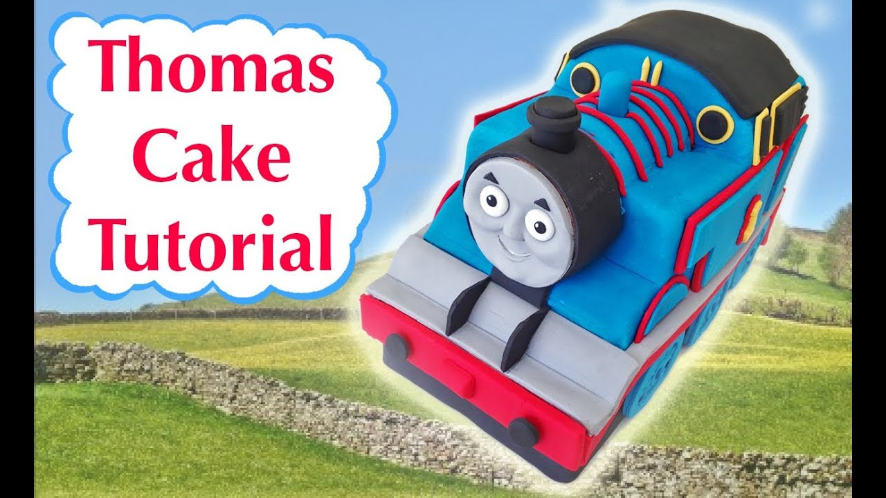 Template For Thomas The Tank Engine Cake | Thomas Train Birthday Cake How To Cook That Ann Reardon 3d Fondant