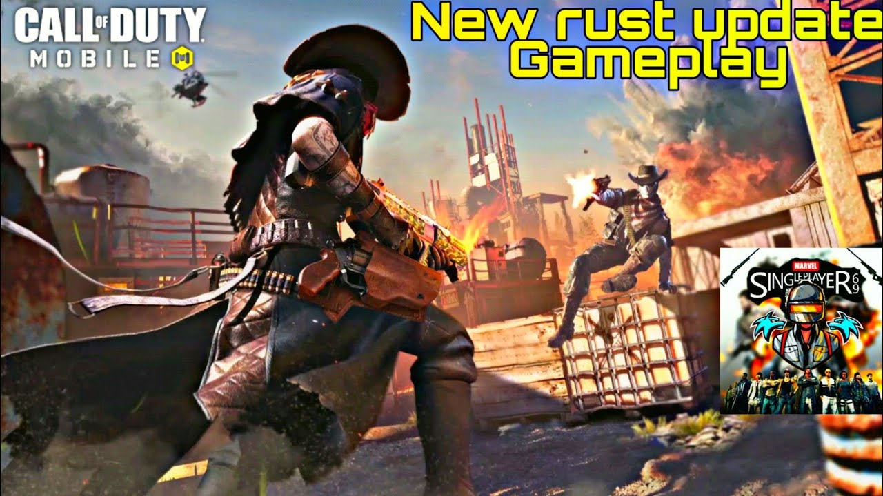 | Call of duty Mobile | New rust update Gameplay | My first Cod Gameplay! |