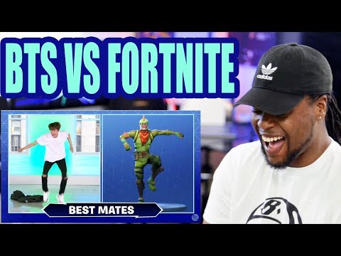 """BTS x Jimmy Fallon Do the Fortnite Dance Challenge   BTS  """"Idol"""" LIVE on The Tonight Show   Reaction"""