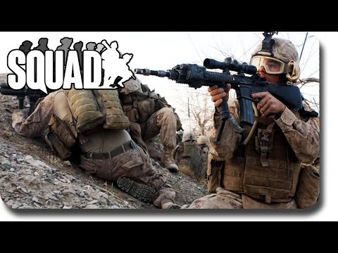 LIVESTREAM! ► Squad: Pre Alpha (100 Player Server!)