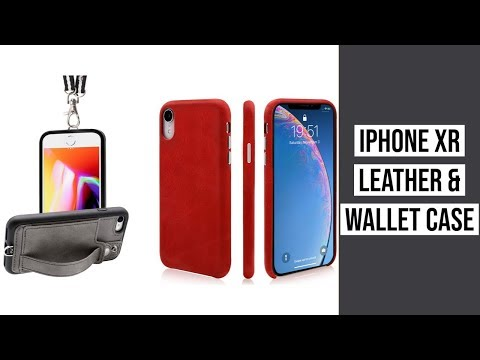 IPhone XR Leather Case ► Toovren IPhone XR Phone Case Review ◄ Toovren Necklace Wallet Case