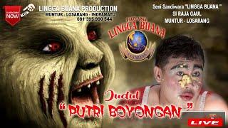 "Gambar cover DELAY LIVE  STREAMING SANDIWARA LINGGA BUANA "" PUTRI BOYONGAN """