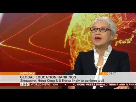 BBC World News Interview - Marshall Education Cavendish