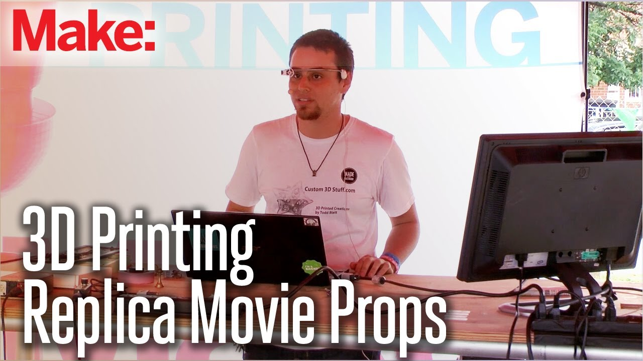 3D Printing in the Replica Movie Prop Community