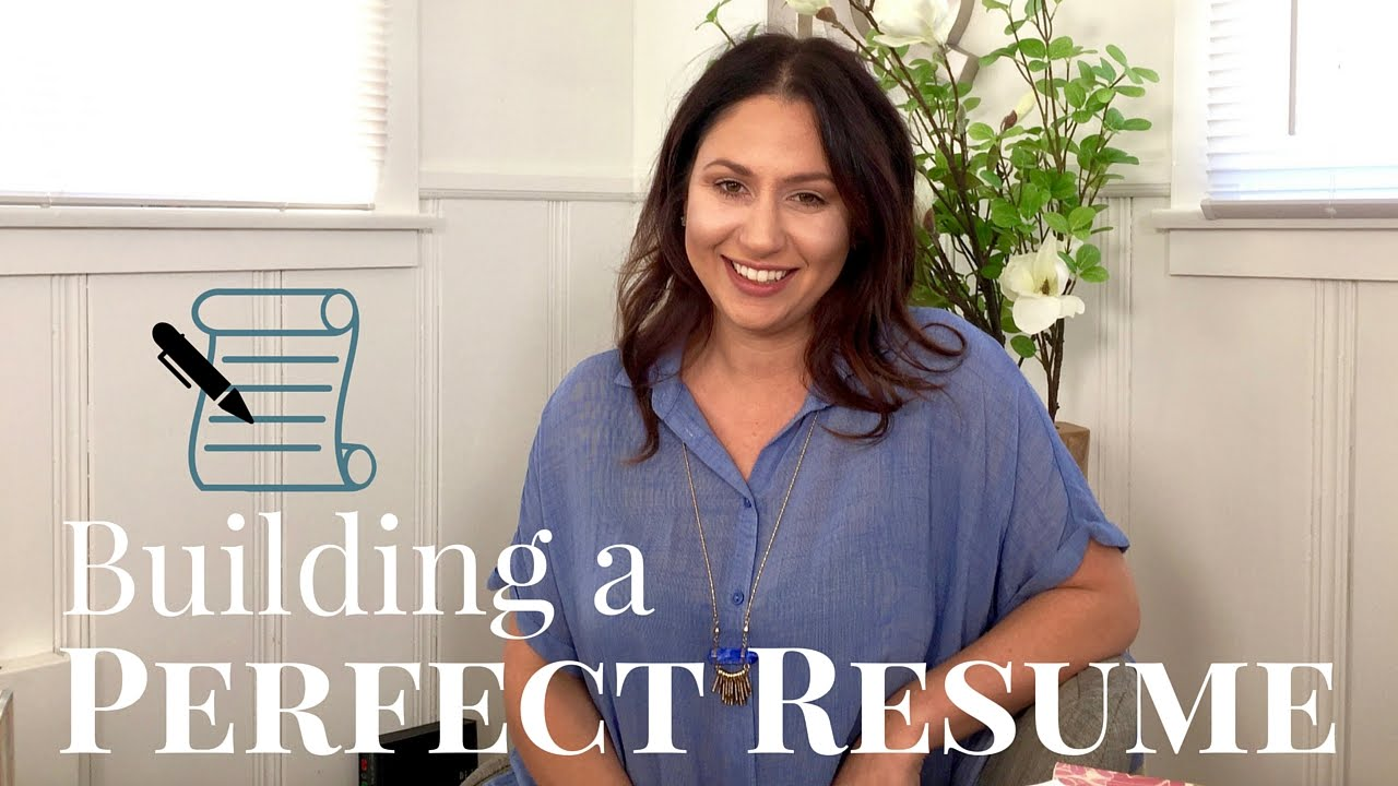 tips for building a perfect resume the intern queen youtube - Build The Perfect Resume