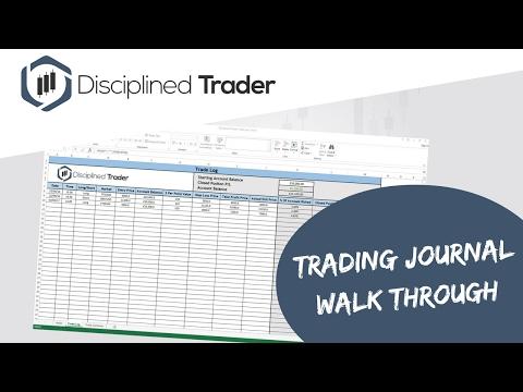 Forex Trading Journal Spreadsheet Free - FOREX TRADING WIN