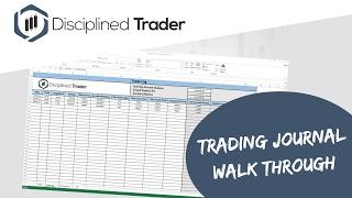 Trading Journal Walk Through