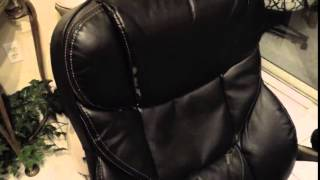 Staples Osgood Bonded Leather High Back Executive Chair Review