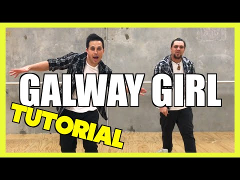 GALWAY GIRL - Ed Sheeran Dance TUTORIAL 🖖 Jayden Rodrigues