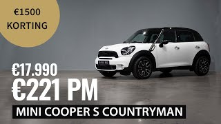 Op voorraad - MINI Cooper S Countryman - €221 per maand - 2014 - 125.000km - 184 pk - €17.990