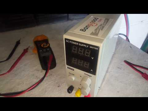 My new 10 Amp lab power supply test and review