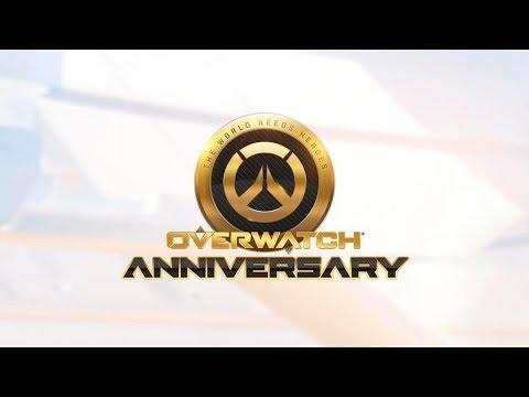 Overwatch Anniversary Event! (If the stream will work..)
