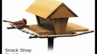 How To Build A Birdfeeder - Download Plans - Ted's Woodworking - Tedswoodworking.com