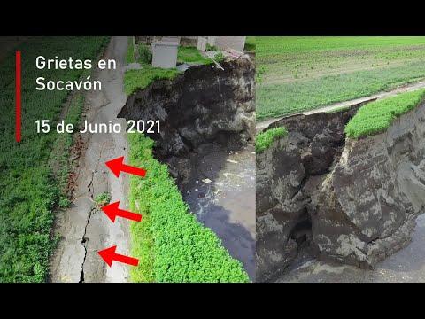 Sigue creciendo.. Investigando el Socavón (15 de Junio 2021)