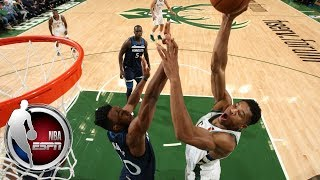 Giannis Antetokounmpo records triple-double in Bucks' preseason finale | NBA Highlights