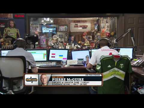 Pierre McGuire on the Dan Patrick Show (Full Interview) 5/14/15