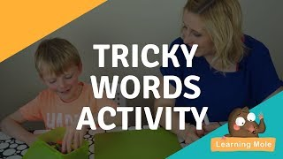 tricky words for kids phase 1 jolly phonics