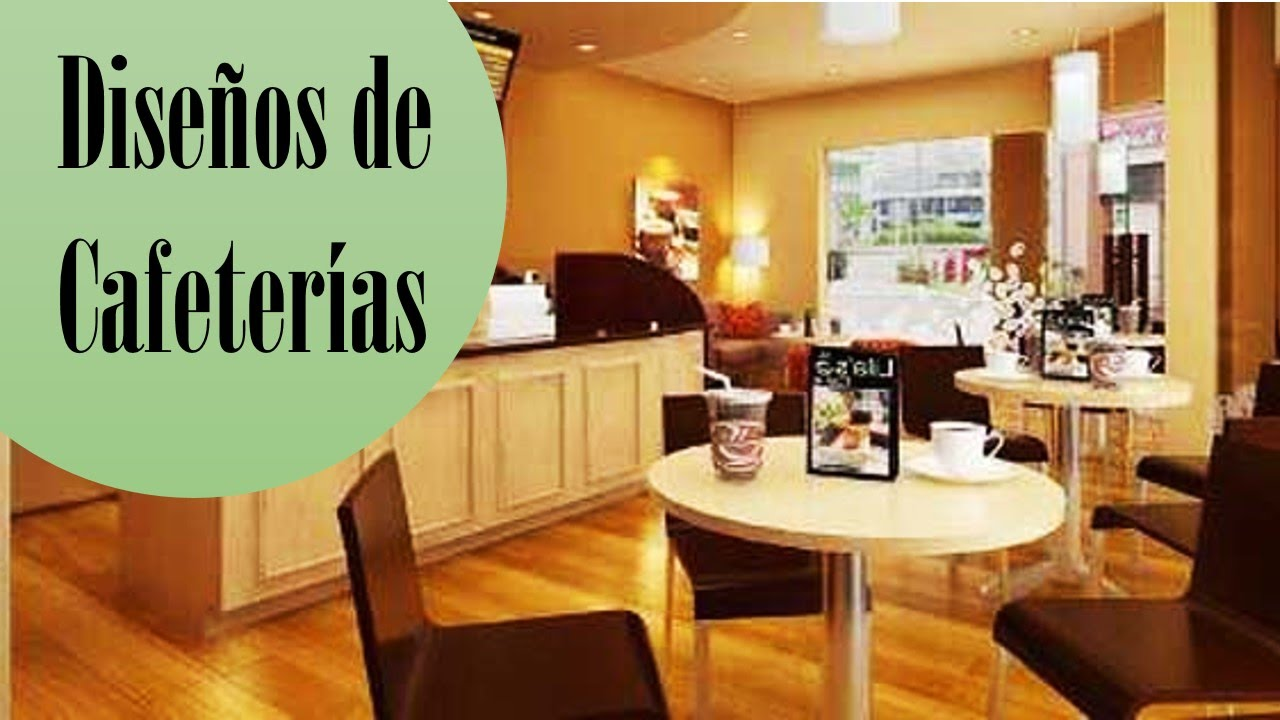 Dise os de cafeterias cursos df youtube for Muebles para cafeteria df