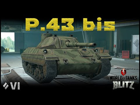 Обзор P.43 Bis [WoT Blitz 6.9]