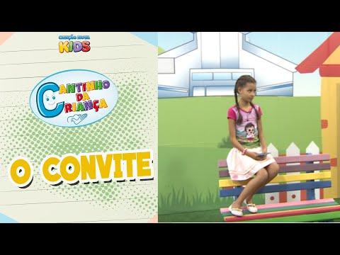 Programa Cantinho da Criança - O Convite
