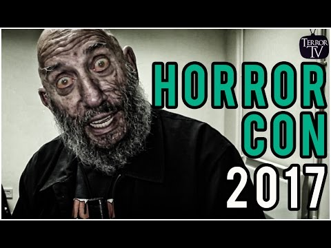 HorrorCon 2017 (UK) Horror Convention Sheffield
