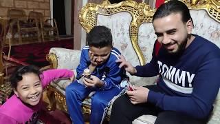 مازن مسمعش كلام مرام واكل الايسكريم !!!