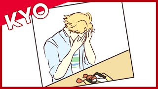 Yoosung's Guide To Failing At Sushi (Hilarious Mystic Messenger Comic Dub)