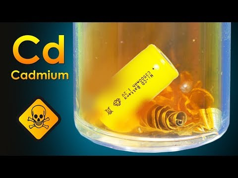 Cadmium - A TOXIC Metal From Old Batteries!