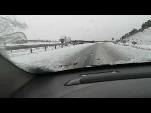 Estado de la autovía del Duero a la salida de Valladolid hacia Tudela de Duero