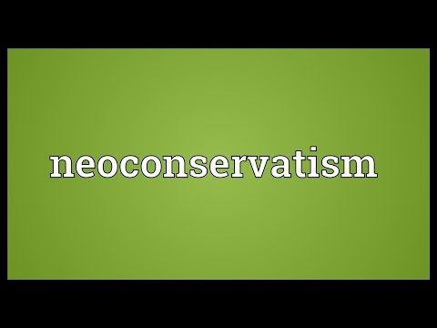 Neoconservatism Meaning