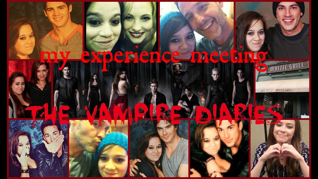 Meeting the vampire diaries cast my experience youtube andreatvd tvd m4hsunfo