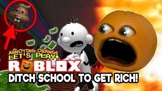 Roblox: DITCH SCHOOL e GET RICH! OBBY [Fastidioso Orange Plays]