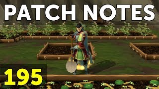 RuneScape Patch Notes #195 - 13th November 2017
