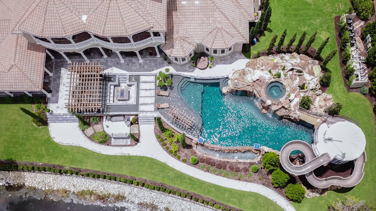 Tampa Pool Builder Lucas Lagoons Insane Pools From Mild To Wild Youtube